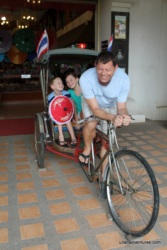 Ironman Rickshaw