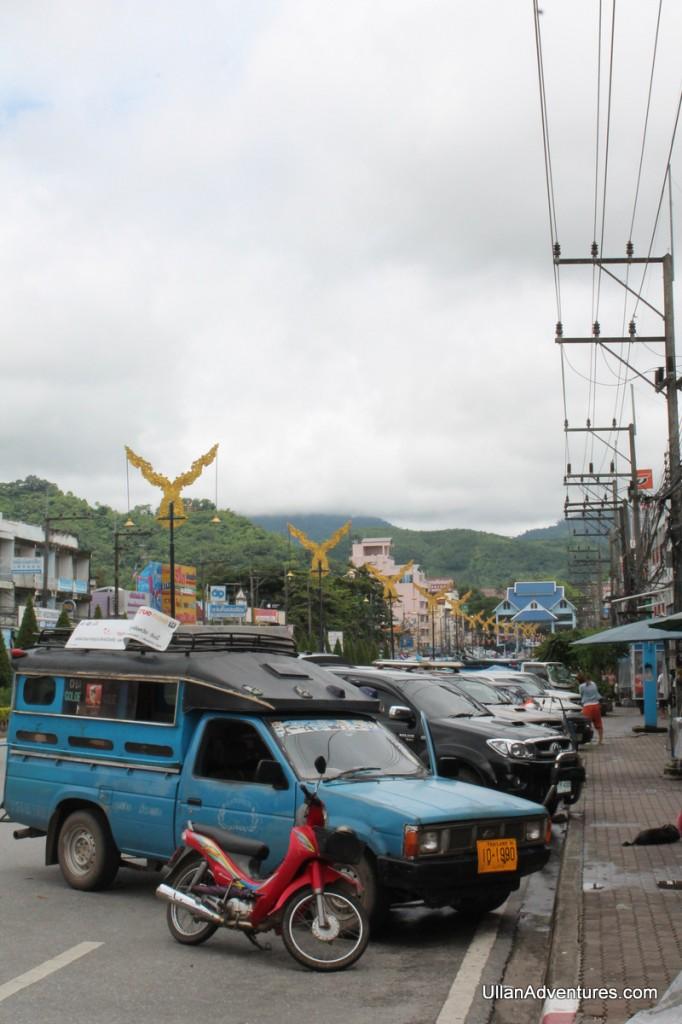 Near the border Mae Sai, Thailand
