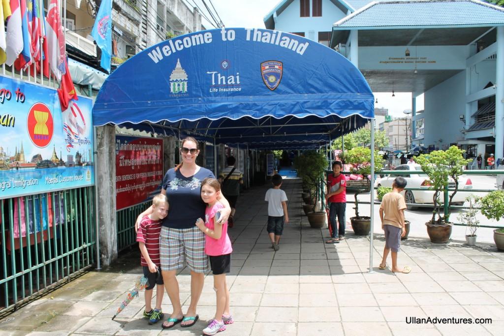 Entering Thailand again