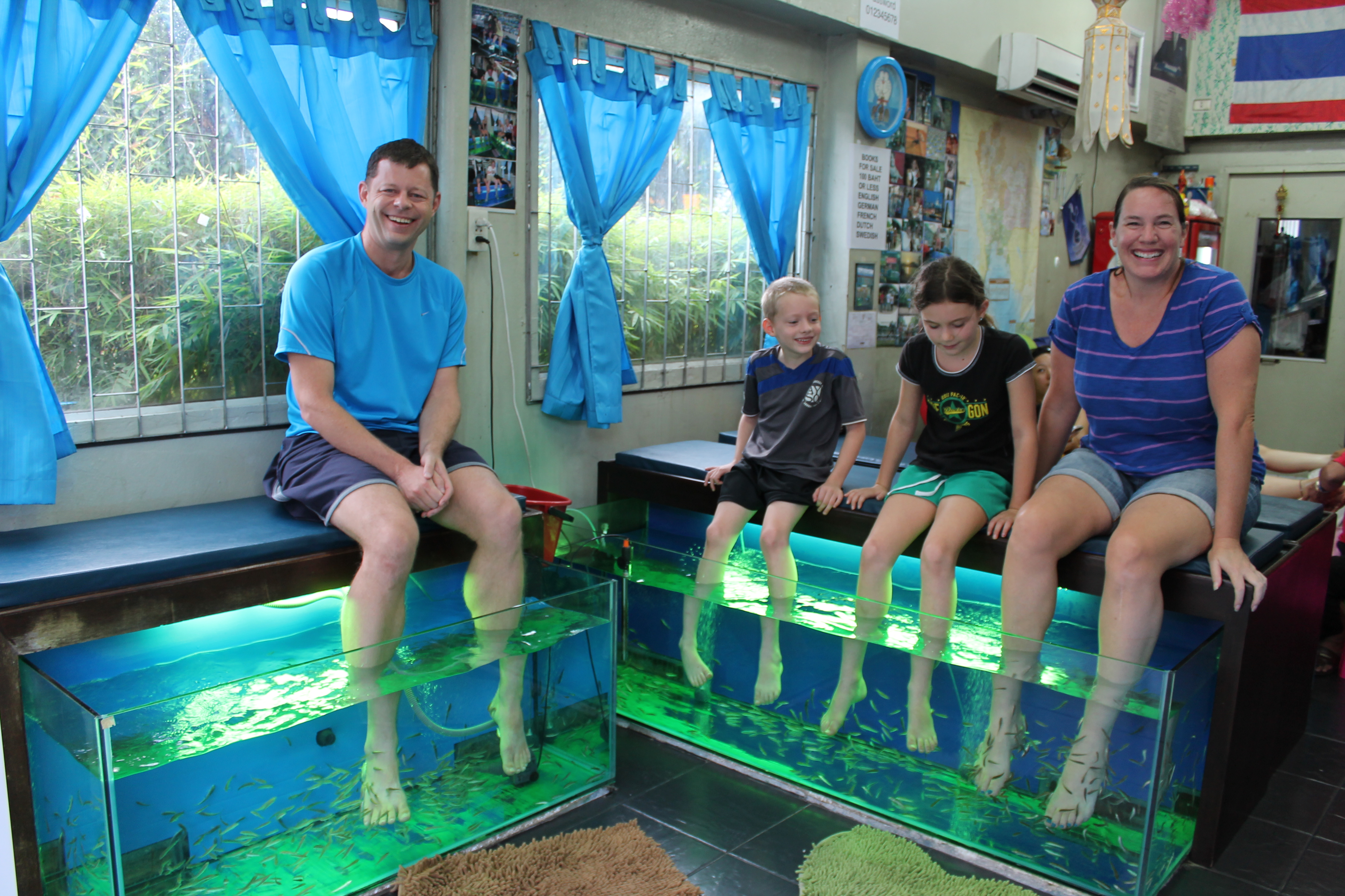 Fish Spa in Chiang Mai, Thailand
