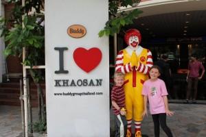 McDonalds Thailand-style