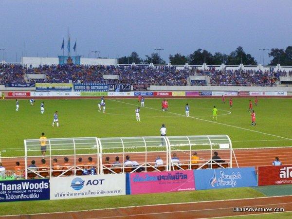 Chiangmai F.C. kickoff