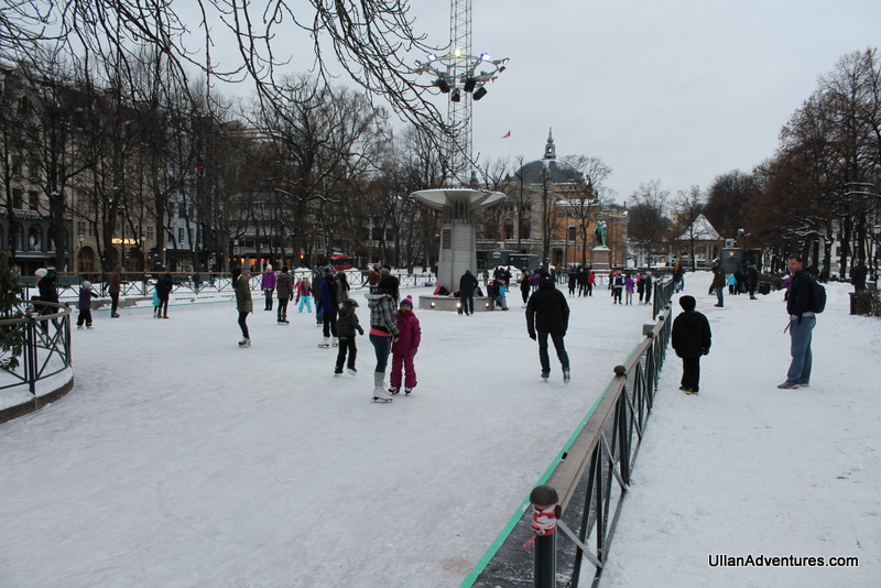 Loved this outdoor ice rink.  However it was way too expensive (and too cold) to try it out.