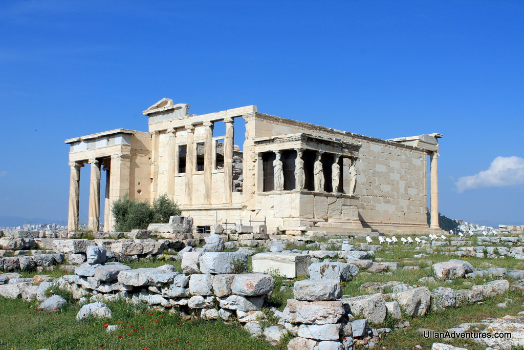 "The Erechtheion or ""Old Temple"" of Athena"