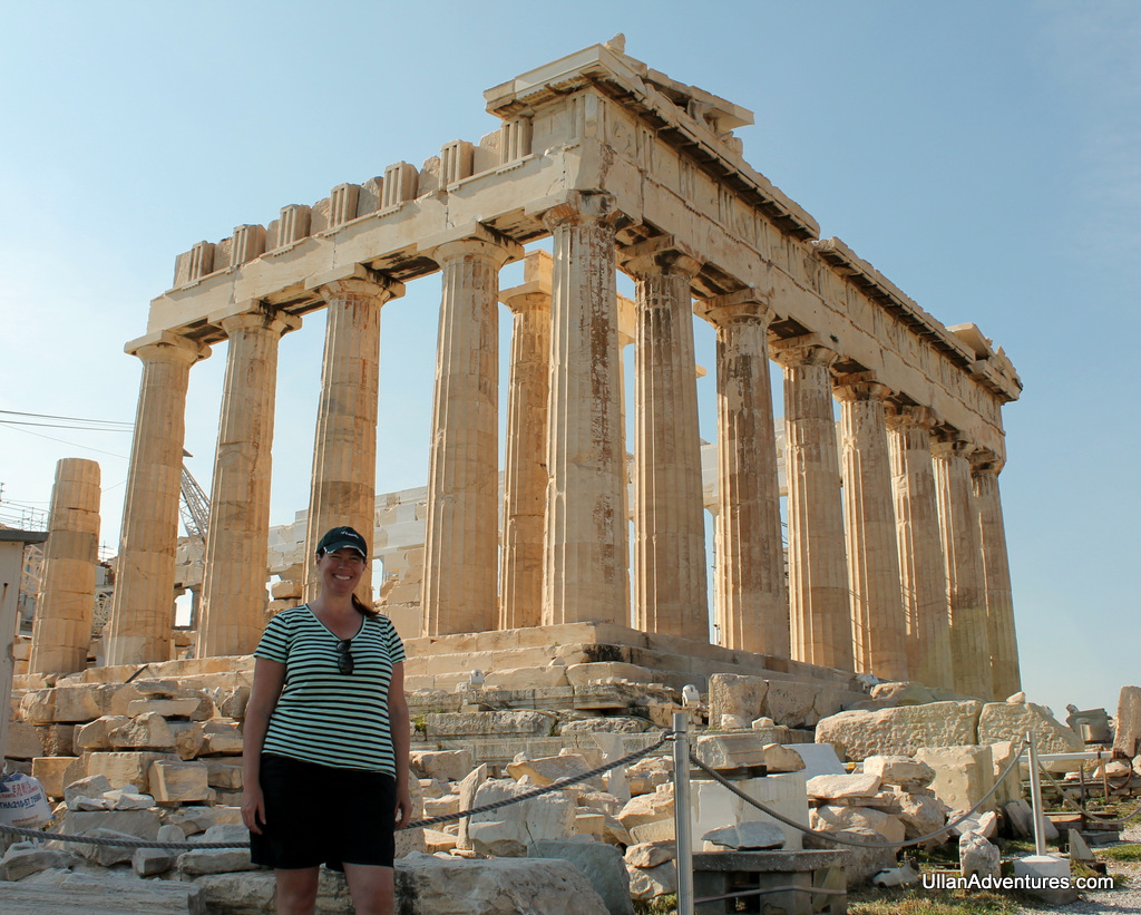 Parthenon Top View