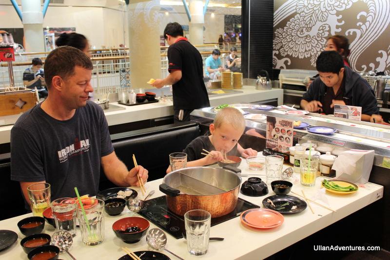 Food-Go-Round in Thailand