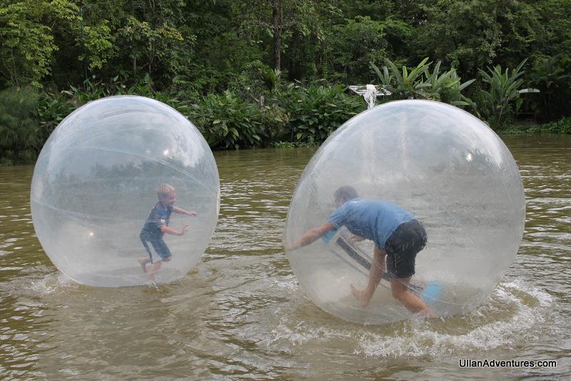 Zorb balls in Thailand