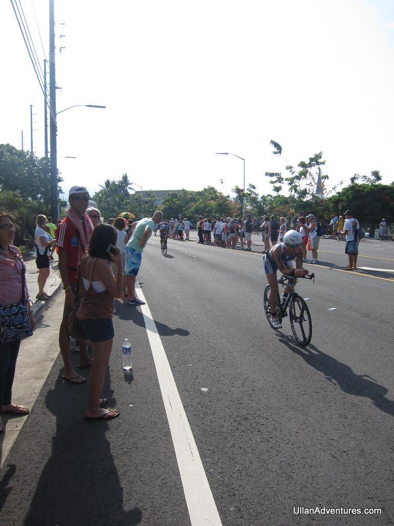 The bike course