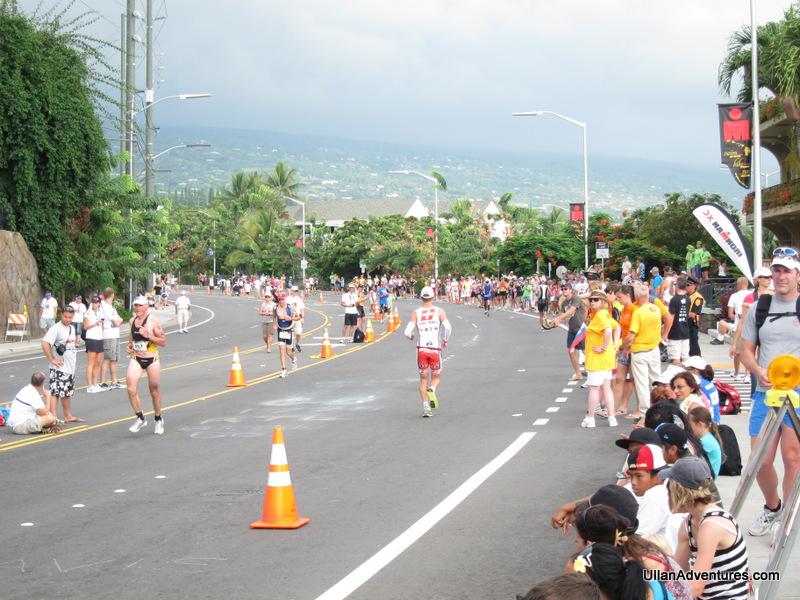 Along the run course