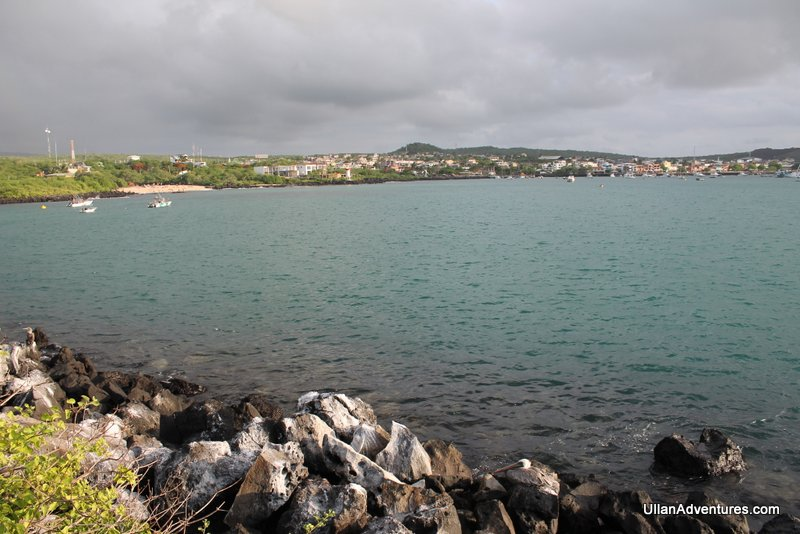 View of town from area near Playa Mann